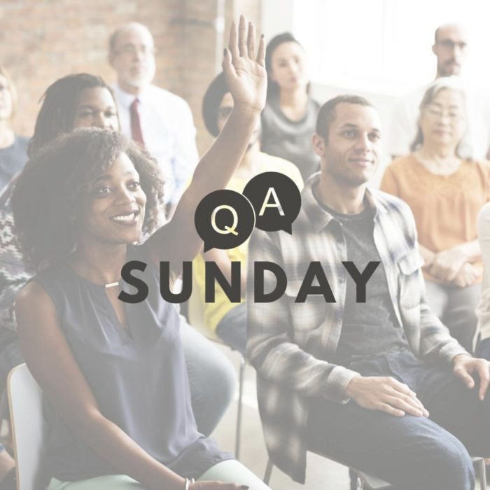 Q&A: Sin and Salvation